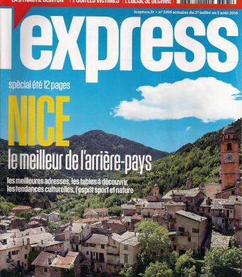 Article de l'Expresse Juillet 2016